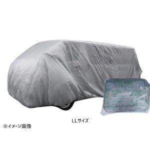 防水性自動車養生カバー NSカバー LLサイズ ワンボックス・RV車用 不織布|yabumoto