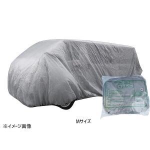 防水性自動車養生カバー NSカバー Mサイズ 普通乗用車用 不織布|yabumoto