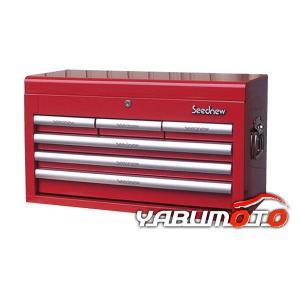 SEEDNEW工具箱チェストレッド(6段引出し) S-R906 yabumoto