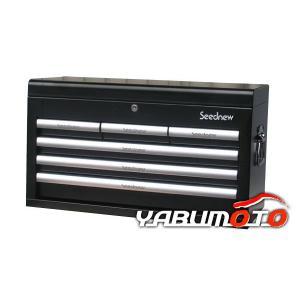 SEEDNEW工具箱チェストブラック(6段引出し)S-R906BL yabumoto