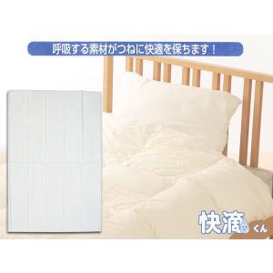 除湿 シート 快滴くん 寝具用 ベッド布団  湿度 調整 消臭 シングル 快適 安眠|yabumoto