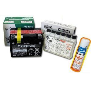 GS YUASA GS ユアサ YT4L-BS バイク用 バッテリー +専用電解液 おまけ付|yabumoto