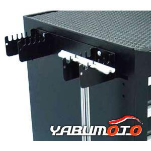 SEEDNEW シードニュー T型 レンチホルダー 黒 キャビネット収納に YTB001-BL yabumoto