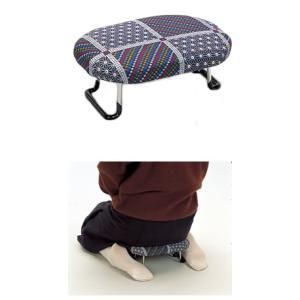 らくらく椅子ワンタッチ型(正座補助椅子・法事などに・折りたたみ式)|yabusame
