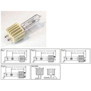 ウシオ USHIO   HPL100V500WB セラミックプラス 4節タイプ ハロゲンランプ
