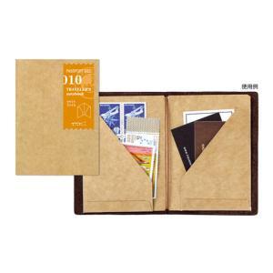 トラベラーズノート パスポートサイズ-リフィル クラフトファイル 14334006