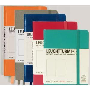 Leuchtturm1917(ロイヒトトゥルム) ドット罫orスクエアorラインのノートブック限定カ...