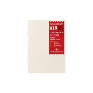 トラベラーズノート パスポートサイズ-リフィル008 画用紙 14372006