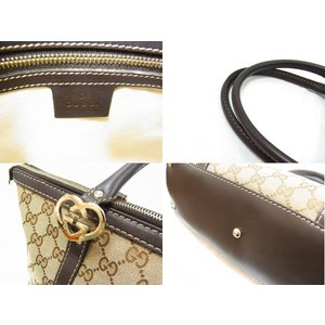 01e257a107a5 ... 【中古】【程度B+】【送料無料】グッチ GUCCI 257069 トートバッグ ...