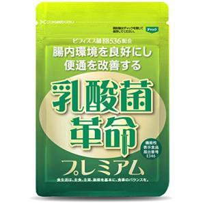 乳酸菌革命プレミアム 乳酸菌サプリ ビフィズス菌BB536 + ラブレ菌 + ガセリ菌 など 16種類の乳酸菌 約31日分|yagihotaru