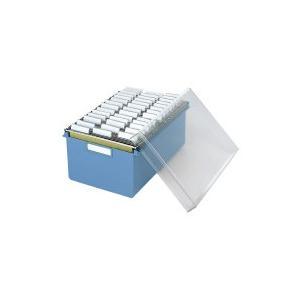 コクヨ 伝票ファイルボックス(セット) B6 本体+ハンギングフォルダー 40枚 (B6-DBS)|yagikk