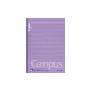 コクヨ キャンパスノートカラー表紙 ドット入り 罫幅6mm 紫 (ノ-3CBT-V)|yagikk