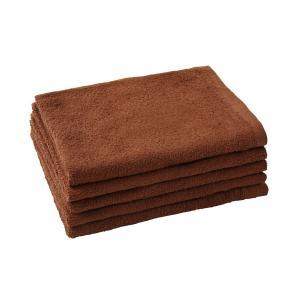 フェイスタオル ブラウン (85×34cm) ブラウン 茶色 タオル たおる フェイスタオル 速乾 ...