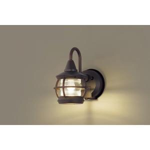 LGWC85216Z パナソニック ポーチライト ダークブラウン LED(電球色) センサー付 yagyu-denzai
