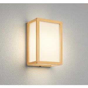 屋外照明 和室 和風ポーチライト 外玄関 LED 電球色 OG041707LC1|yagyu-denzai