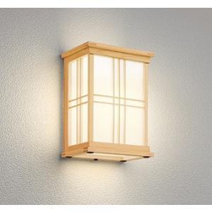 屋外照明 和室 和風ポーチライト 外玄関 LED 電球色 OG041708LC1|yagyu-denzai