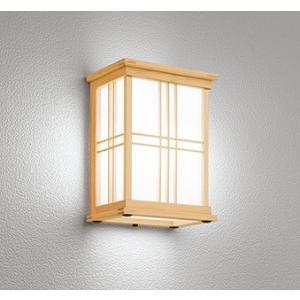 屋外照明 和室 和風ポーチライト 外玄関 LED 昼白色 OG041708NC1|yagyu-denzai