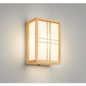 屋外照明 和室 和風ポーチライト 外玄関 LED 電球色 OG041709LC1|yagyu-denzai