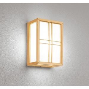屋外照明 和室 和風ポーチライト 外玄関 LED 昼白色 OG041709NC1|yagyu-denzai