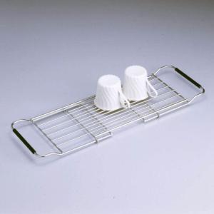 水切りかご 日本製 大木製作所 ステンレス製 スライドドレーナー|yakanya