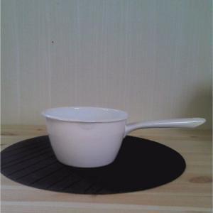 日本製 大澤琺瑯 ホーロー製 ミルクパン15cm (ミルクパン・ホーロー鍋・日本製)|yakanya
