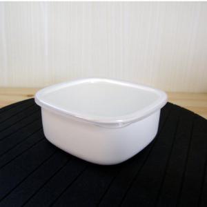 日本製 大澤琺瑯 ホーロー製 保存容器 ストック S (ホーロー保存容器・保存容器・日本製)|yakanya