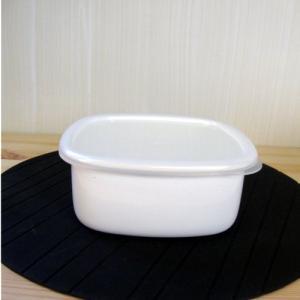 日本製 大澤琺瑯 ホーロー製 保存容器 ストック M (ホーロー保存容器・保存容器・日本製)|yakanya