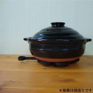 IH対応土鍋 銀天目IH土鍋 9号 日本製(土鍋・IH土鍋・家鍋・日本製)|yakanya