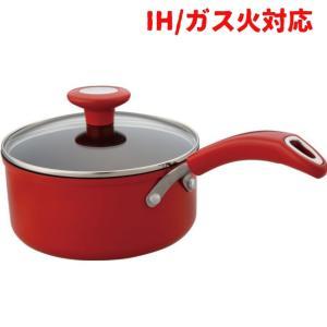 ih鍋 マイヤー イタリアンレッド2片手鍋18cm IH対応...