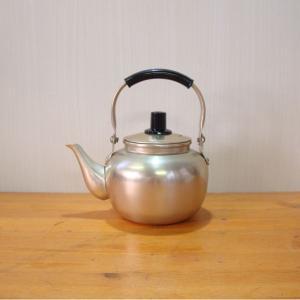 小さい湯沸 やかん ケトル アルミ製湯沸 1L|yakanya