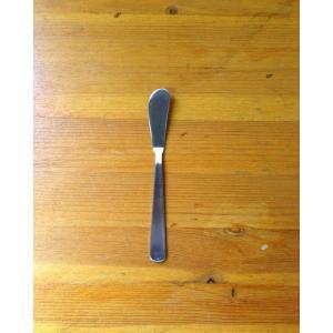 バターナイフ 18-8抗菌ライラック バターナイフ 日本製  ステレンスバターナイフ 抗菌・日本製、...