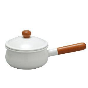 野田琺瑯 ホーロー鍋 POCHKA (ポーチカ) ソースパン15cm   商品寸法 W.292×D....