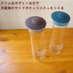 冷水筒 耐熱ガラス冷水筒 ワンタッチジャグ1L|yakanya