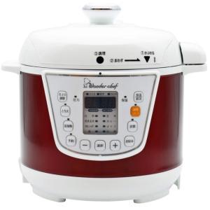 電気圧力鍋  ワンダーシェフ マイコン電気圧力鍋 3L  OEDC30 R1 圧力鍋 サイズ:約幅3...