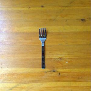 幼児用フォーク 4本刃 ミニ 日本製 18-0ステレンスカトラリー ステンレスフォーク キッズフォーク 洋食器