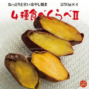 焼き芋 4種食べ比べ2 冷蔵 冷やし焼き芋 ひえひえ君 1Kg 送料無料 yakiimomarujun