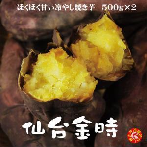 焼き芋 仙台金時 冷蔵 ほくほく甘い冷やし焼き芋 1kg 送料無料 宮城県産 yakiimomarujun