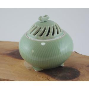 瀬戸焼 オリジナル 香炉 うぐいす丸 |yakimonoen