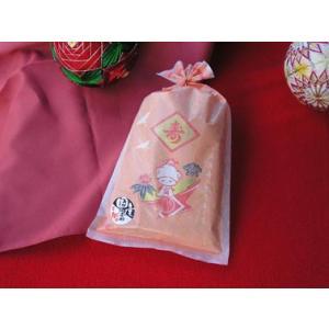 和風プチギフト 花嫁せんべいNO40 国内産小麦粉仕様 45袋パック|yaku-kagetudo