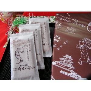福知山名物 踊せんべい 10袋入20枚 香り引き立つ国内産小麦粉100%特別仕様 お菓子 福知山市 お土産 yaku-kagetudo 03
