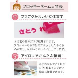 フロッキーネーム 大中小タイプ お名前 シール|yakudachi|04