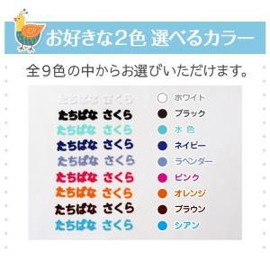 フロッキーネーム 標準 お名前 シール 40枚|yakudachi|06