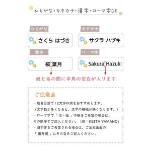透明 お名前シール 142枚@|yakudachi|09