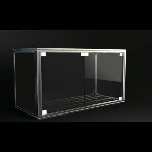 Jigsoma Aqua stand W900H700水槽台用強化ガラスドア取り付けセット yakudo-engine