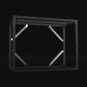 Jigsoma Aqua stand Brace 横揺れ防止金具 yakudo-engine