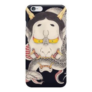 和柄iPhoneケース『般若と蛇』 iPhone7 plus / 6s plus / 6s / 6 plus / 6 対応|yakudo-engine