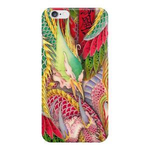 和柄iPhoneケース『鳳凰と龍』鳳凰版 iPhone7 / 6s / 6 用|yakudo-engine
