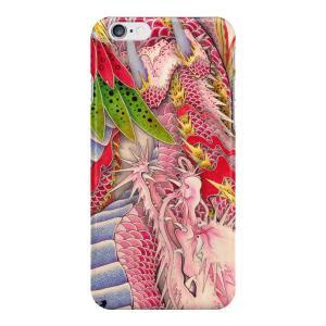 和柄iPhoneケース『鳳凰と龍』龍版 iPhone7 / 6s / 6 用|yakudo-engine
