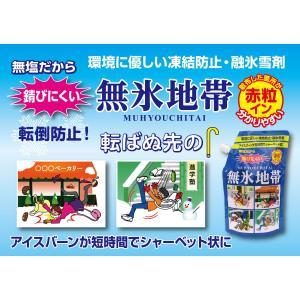 凍結防止 融氷雪剤 無氷地帯 赤粒イン 1kg 16袋セット|yakuhin-net