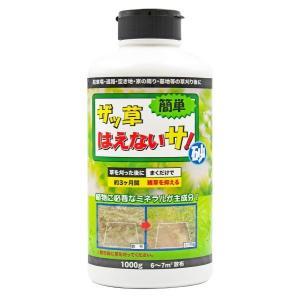 雑草 抑制剤 ザッ草はえないサ! 1000g トーヤク製|yakuhin-net